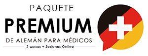 Paquetes premium de cursos de alemán médico