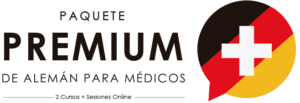 Paquete premium de cursos de alemán para médicos