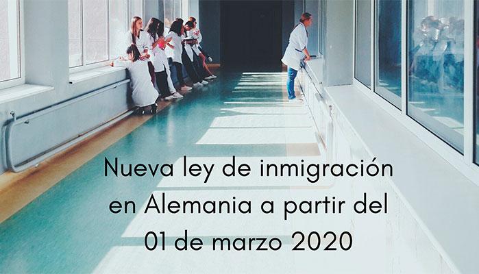 Nueva ley inmigración altamente cualificado Alemania