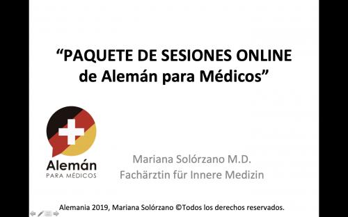paquete sesiones online